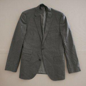 Boss Hugo Boss Mens Blazer Jacket Gray Two Button